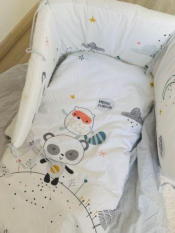 Proteção e colcha Cama Criança