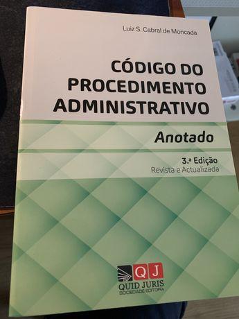 Codigo de procedimento administrativo anotado