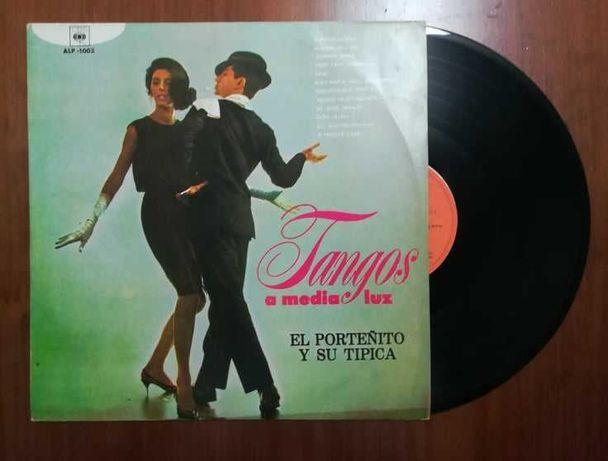 Disco de vinil (LP) - Tangos a media luz