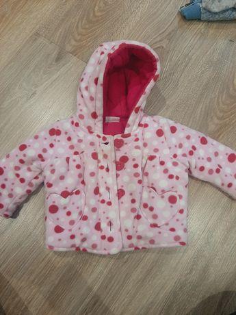 Курточка дитяча рожева