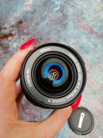 Sprzedam obiektyw Canon EF-S 18-55 mm f/3.5-5.6 IS .