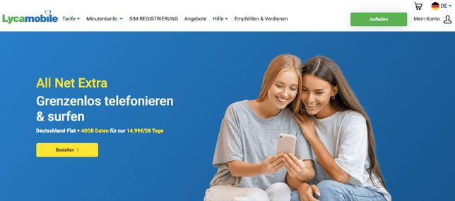 LycaMobile Starter DE Niemcy +49 SIM Card Prepaid