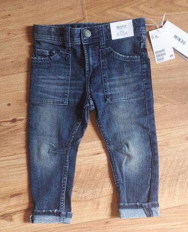 Spodnie chłopięce jeansy rozm. 98