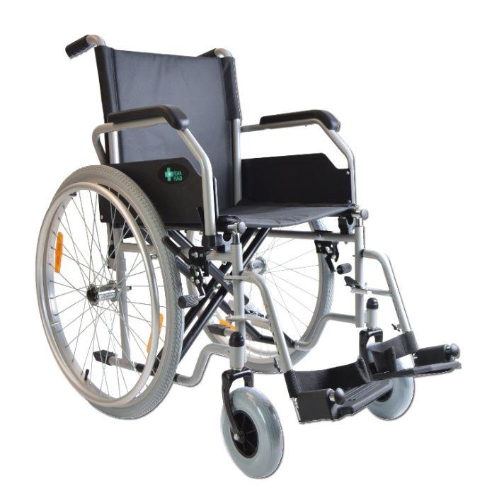 RF-1 wózek inwalidzki stalowy / NFZ / p.127 Łódź - image 1