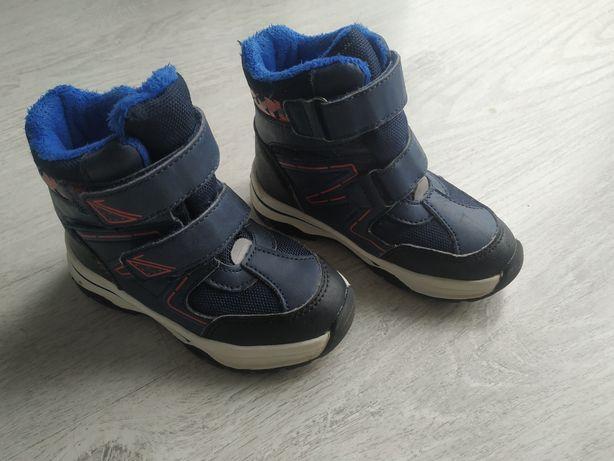 Buty zimowe chłopięce, trapery, kozaki