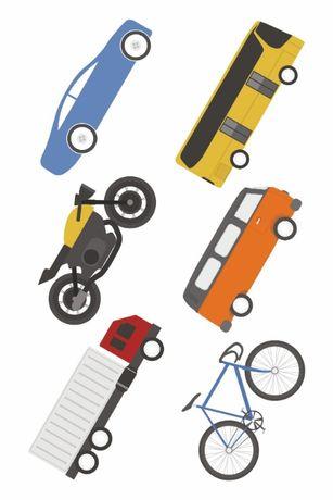 Tatuaże zmywalne duży kartonik - motocykl - oferta producenta