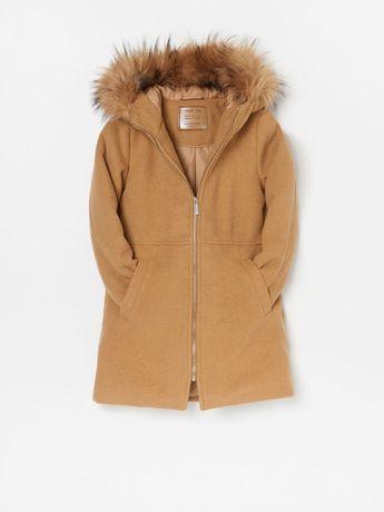 Reserved płaszczyk zimowy ocieplany 146 nowy