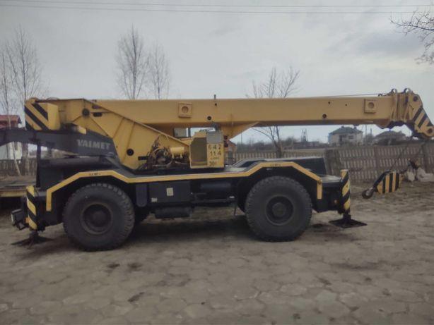 Dźwig żuraw Libhher LTL LTM 30 ton