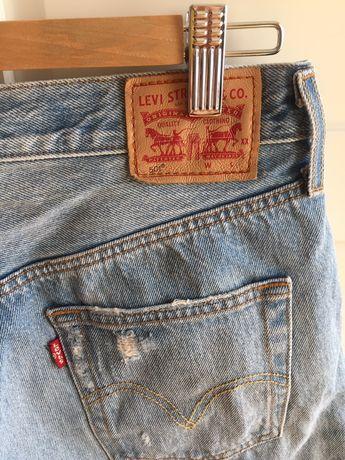 Krotkie jeansowe spodenki Levi's