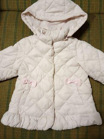 Курточка+ шапочка зимові для маленької леді, р.86.