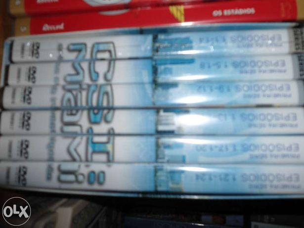 Colecção de 6 dvds Csi Miami embalados