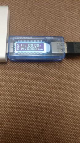 Цифровой USB тестер 3в1 емкости батарей KEWEISI v20