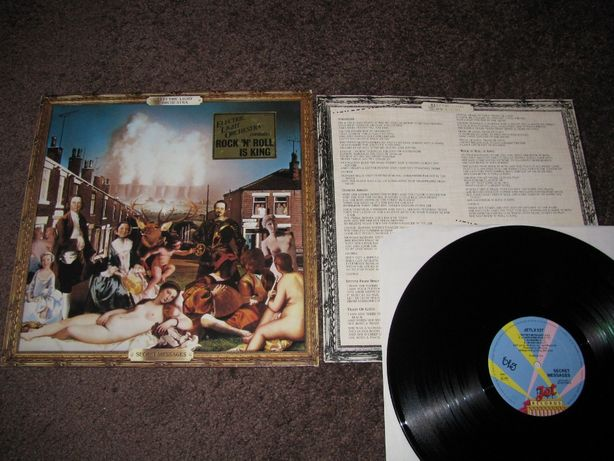 Electric Light Orchestra – Secret Messages, płyta winylowa
