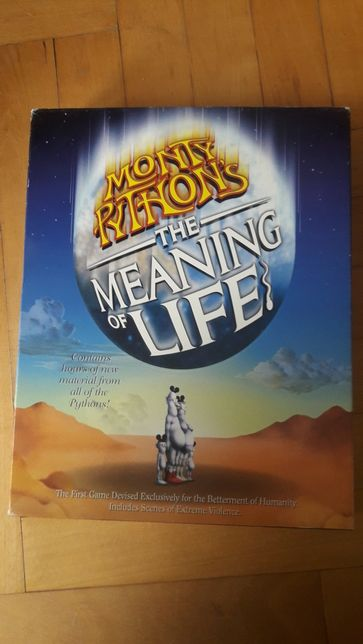 Monty Python meaning of life GRA PC