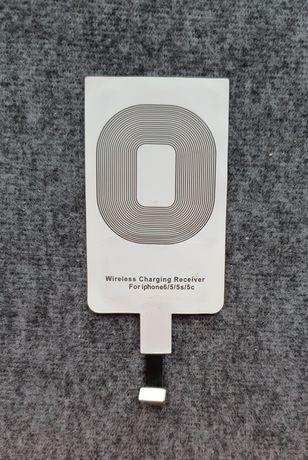 Adapter QI Ładowania Indukcyjnego iPhone 6/5/5S/5C/SE