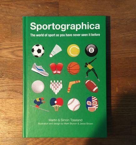 "Ksiażka ""Sportographica"" Martin & Simon Toseland ENG"