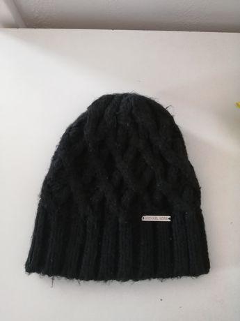 Michael Kors oryginalna czarna czapka