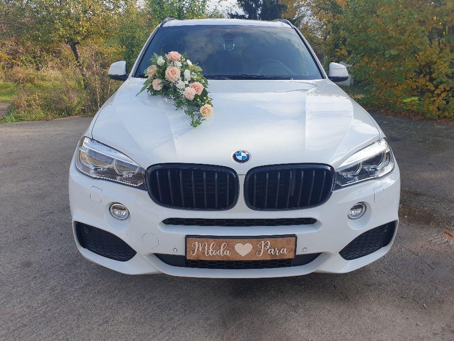 Samochód do Ślubu BMW X5