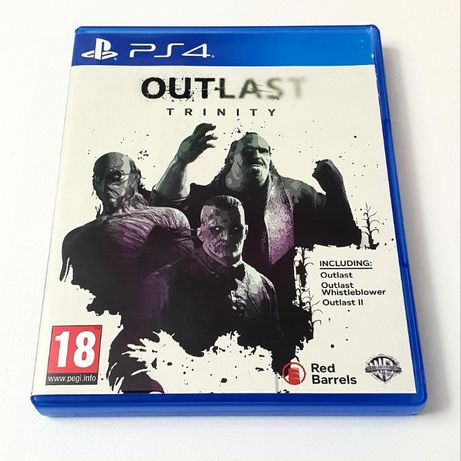 Gra Outlast Trinity PL PS4 PS5 Playstation 4 5 Resident Evil
