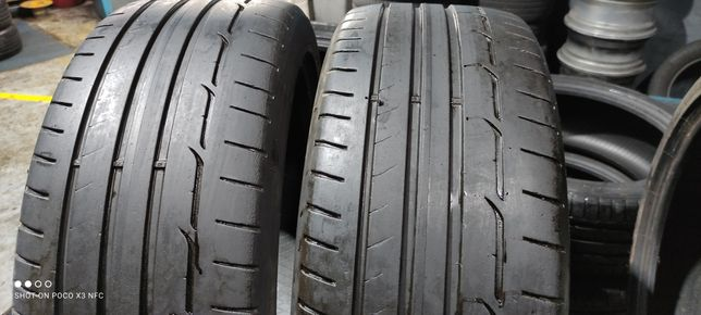 Pneus 225/45/19 Dunlop semi novos