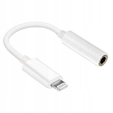 Adapter przejściówka słuchawek lighting do jack iphone 7 8 X