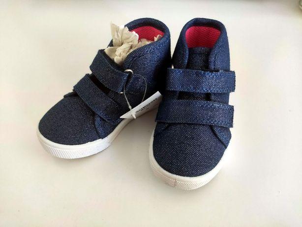 Кросівки для дівчаток 1-1,5 року OshKosh Mane-G (Navy)