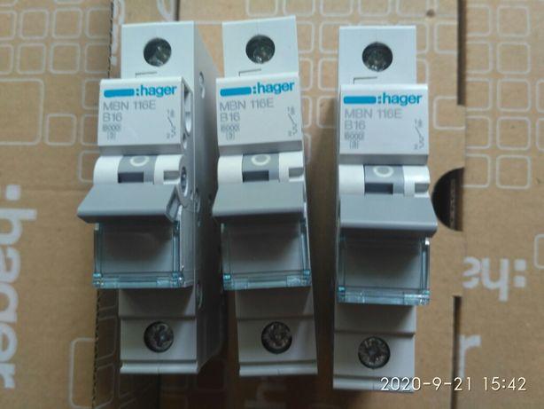 Автомати hager хагер.Франція
