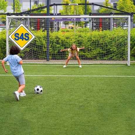 Сетка футбольная для ворот S4S без-узловая (Испания) от 2840 грн/пара