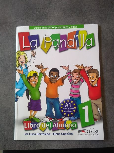 Książka do nauki hiszpańskiego. La Pandilla. 1 część. Stan idealny.