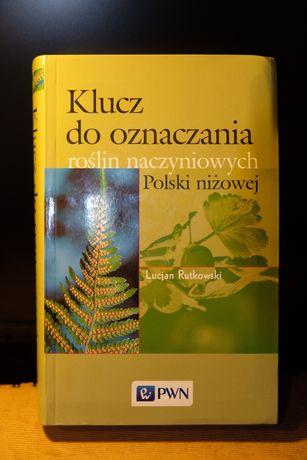 Klucz do oznaczania roslin Polski niżowej Rutkowski PWN Jak nowa!