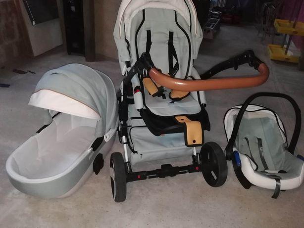 Milu Kids Starlet Plus 3w1 (spacerówka + gondola + fotelik