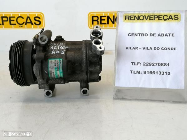 Compressor Do Ar Condicionado Renault Clio Ii (Bb_, Cb_)