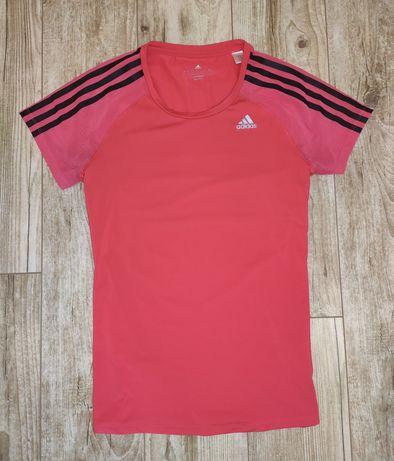 Яркая оригинальная футболка для занятий спортом Adidas S