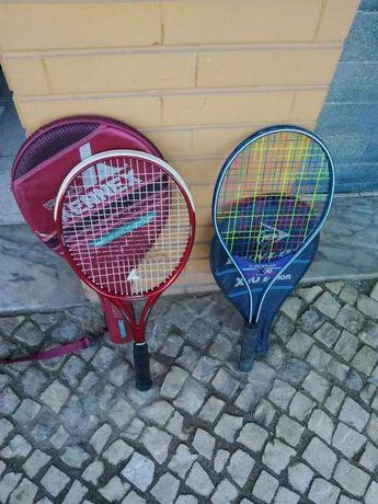 2 raquetes de tenis