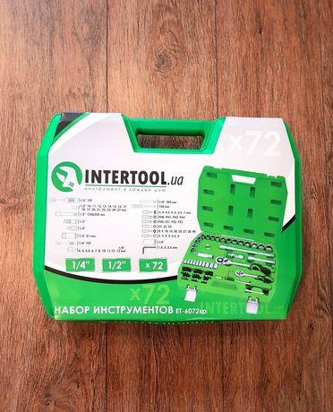 Набір інструменту Intertool 72шт