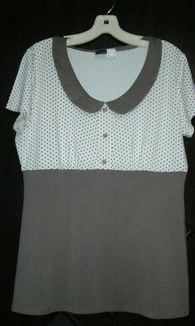 Блузка трикотаж.Р50-52