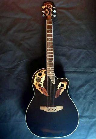 Guitarra semi-acústica Dotch, estilo Ovation