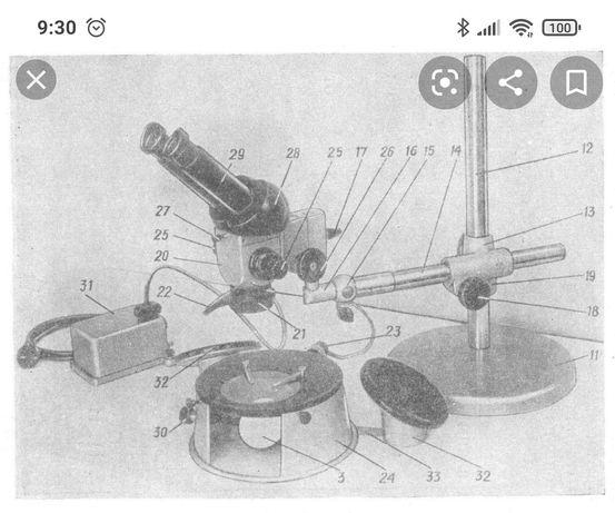 Микроскоп стереоскопический МБС-2 — SCOPICA