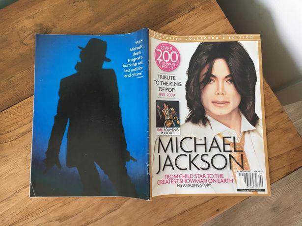 możliwość wysyłki / Michael Jackson album/gazeta unikat zagraniczna