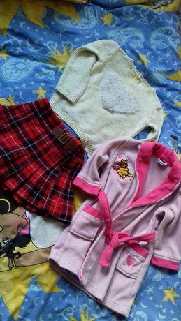 Ubrania  dziewczęce  rozm.86-92cm