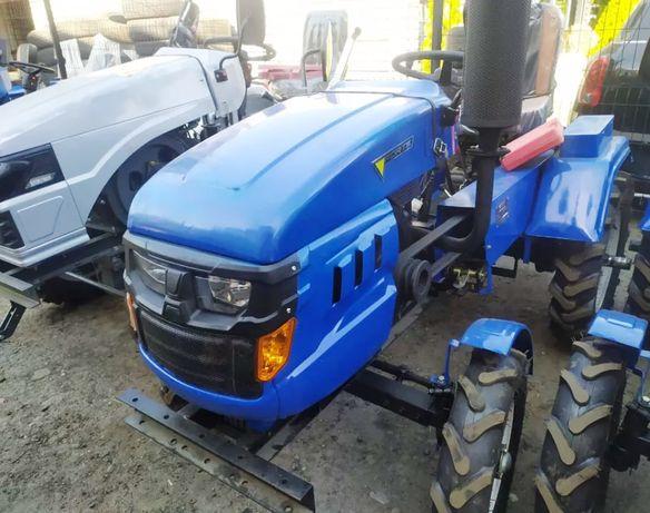 Мототрактор FORTE MT-161 +плуг+фреза. Трактор з безкоштовною доставкою
