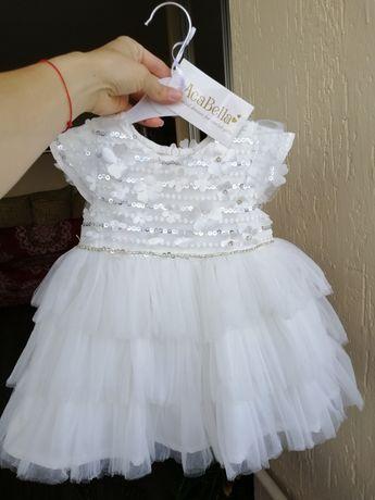 Продам плаття з пов'язкою для дівчинки.