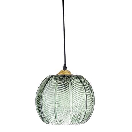 Lampa wisząca Jungle Zielona Bloomingville (3sztuki )