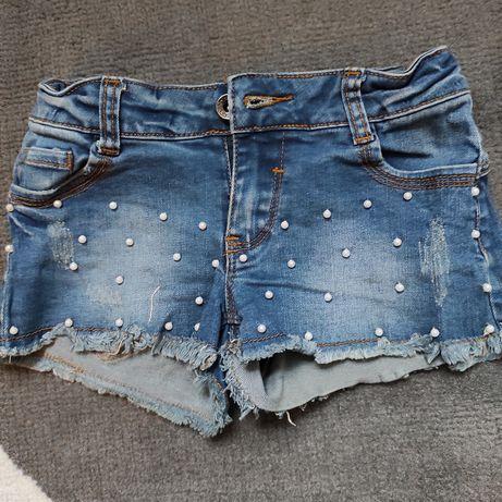 Szorty jeansowe, krótkie spodenki