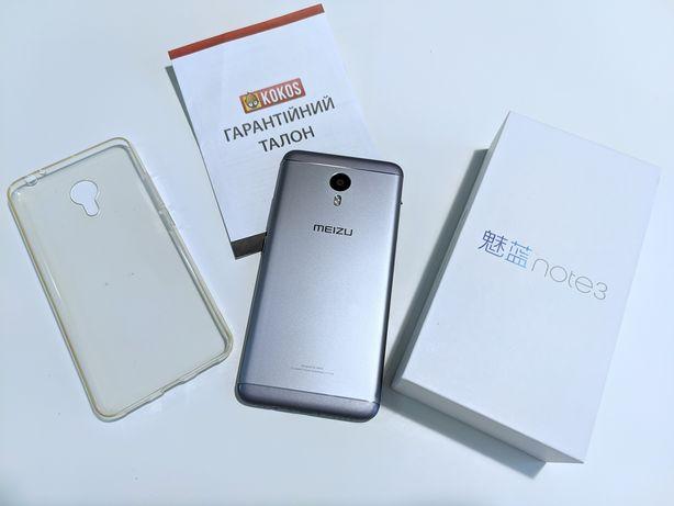 Meizu m3 note 32gb хорошее состояние, комплект с чехлом