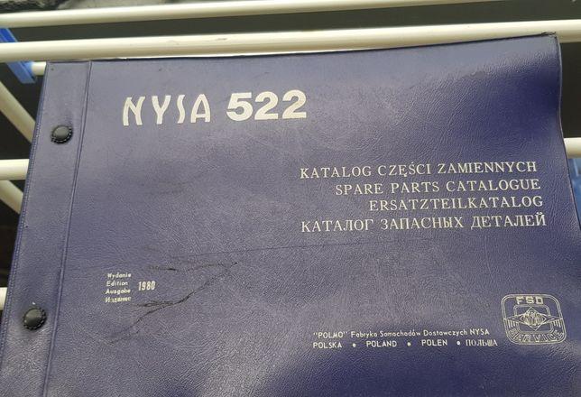 Katalog części zamiennych NYSA 522