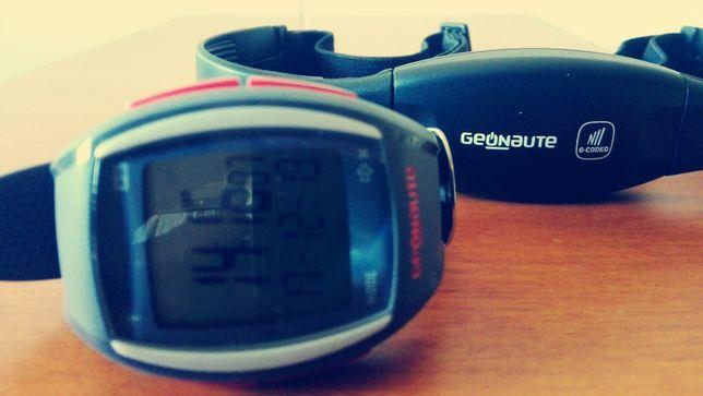 Relógio Geonaute com Banda Frequência Cardiaca   Novo