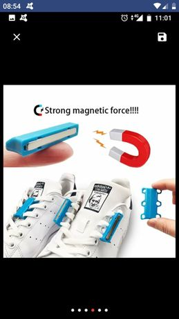 Magnetyczne sznurówki magnes