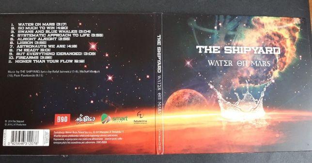 The Shipyard – Water On Mars, CD 2014, doskonały stan