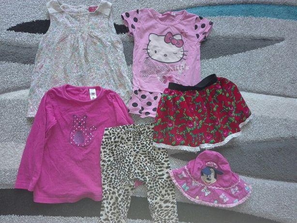 Ubranka dla dziewczynki 2 latka.